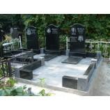 Гранит комплекс на байковом кладбище  - Фото
