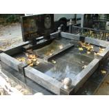 Гранитное надгробия покостовка  - Фото