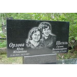 Надгробия лесное кладбище черное
