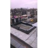 цоколь с памятником Южное кладбище  - Фото