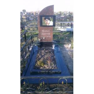памятник с фото на граните
