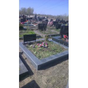 Гранитное надгробия покостовка