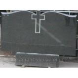 Памятник мрамор Стелла-С5 120х70х8 - Фото