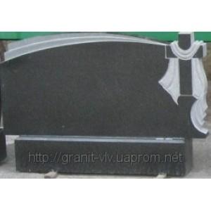 Гранитный Памятник плюс  Стелла-С8 130х60х8