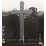 Крест из камня 115х55х8. - Фото