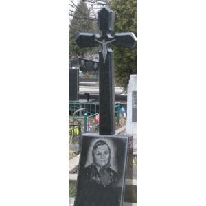 Крест на памятник купить 2 из гранита 90х45х8 №3.