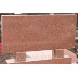 Памятник карьерный Стелла красный 110х60х8 - Фото