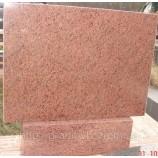 Памятник гранитный Стелла красный 110х60х8 - Фото