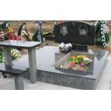 Двойные памятники на могилу из гранита в Киеве - Фото