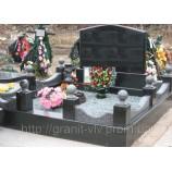 Гранитный комплекс на могилу - Фото