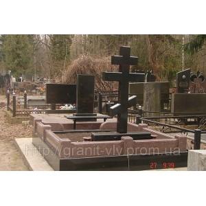 Крест из гранита киев небольшой