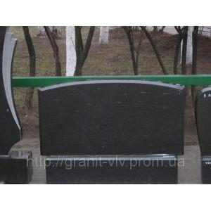 Установка Памятника резаный  Стелла-С3 100х50х8