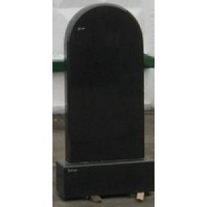 Памятник переход черный Арка-А11 120х60х8
