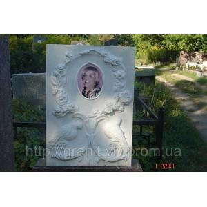 Портрет на  памятнике