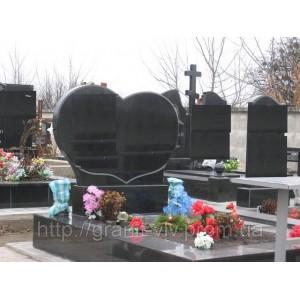 Надгробия  мемориальный комплекс с крестом 110х55х8