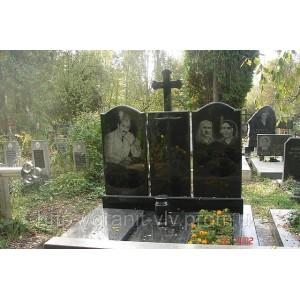 Двойные памятники на могилу из гранита в Киеве