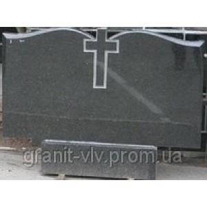 Памятник кладбищенский  установка.