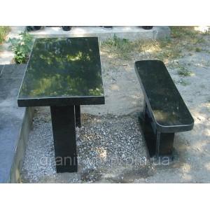 Стол и лавка на кладбище105х50х5.