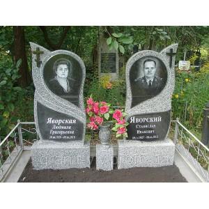 Памятник зеркало  Арка-А2 120х60х8