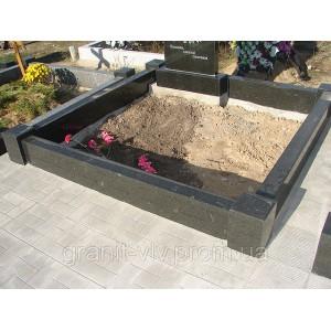 Черный гранит на могилу