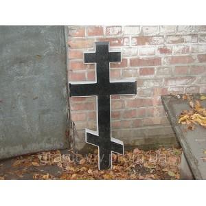 Крест на могилу из гранита 90х45х8 №4.