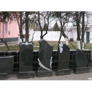 Памятник узор из киева Арка-А12 120х60х8.