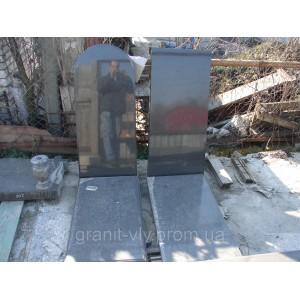 Памятник вид гранитный Арка-А10 95х45х8