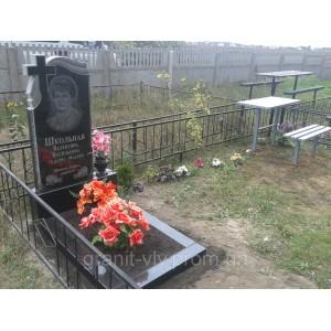 Памятник с крестом  Стелла-С5 100х50х8