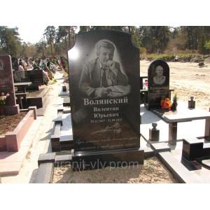 Установка памятника на Берковцах 21