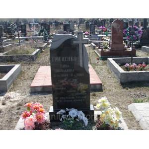 Памятник киев  черный Арка-А2W 100х50х8.