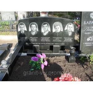 Памятник габбро  Стелла-С1А1 120х60х8