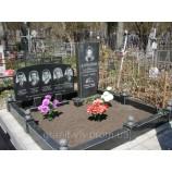 Памятник киев полированный  Стелла-С9Y 120х70х8 - Фото