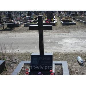 Крест  каменный 95х50х8 № 9S..
