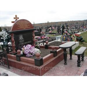 Мемориальный комплекс заказной на кладбище