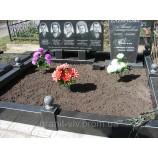 Благоустройство на кладбище намогильных сооружений - Фото