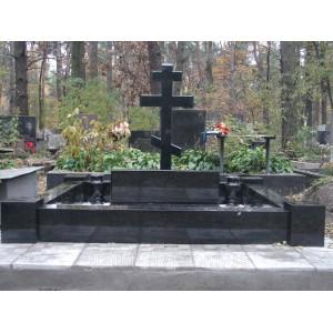 Памятник унаверсал гранитный Арка-А1 100х50х8