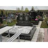 Памятник гранитный на могилу полированный  Стелла-С8 95х45х8.. - Фото