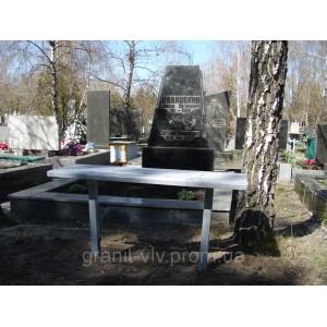 Стол и лавка установить киев100х48х5.