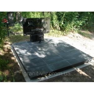 Надгробный памятник Стелла-С2 120х60х8