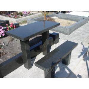 Стол серый  105х55х5