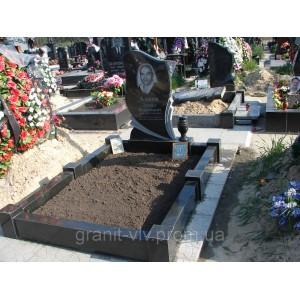 Надгробие на могилу плюс Киев 100х50х8