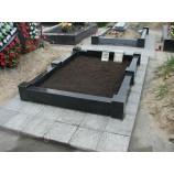 Черный гранит на могилу - Фото