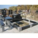Габбро гранит Лесное кладбище  - Фото