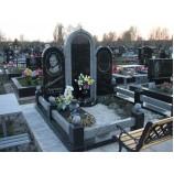 Мемориальный комплекс на кладбище 12 - Фото