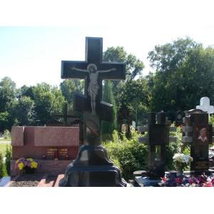 Крест сложный черный