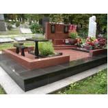 Надгробия мемориальный комплекс лезниковский + габбро. - Фото