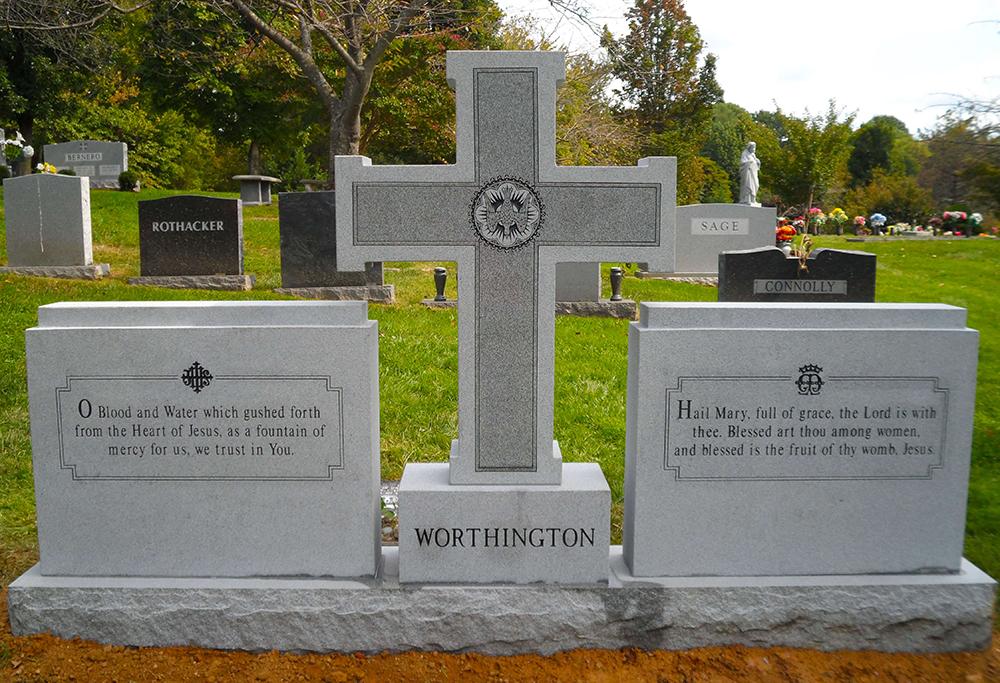 Гранитный крест, мемориал